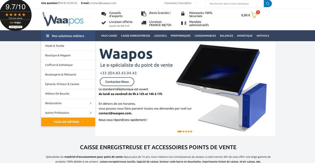 Waapos | Caisse enregistreuse et POS