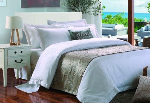 Linge de lit qualité hôtel