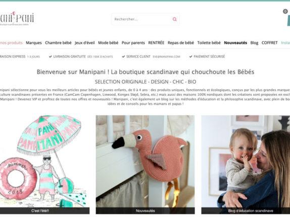 Manipani | Boutique bébé scandinave