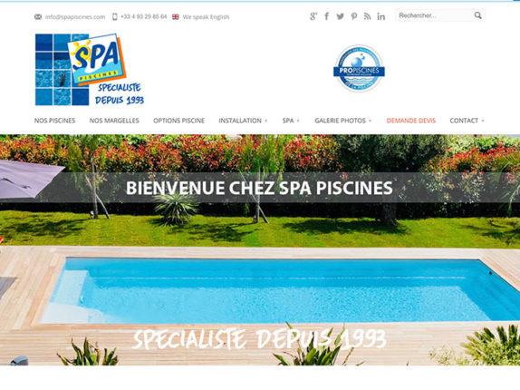 SPA Piscines |Piscine coque polyester Nice