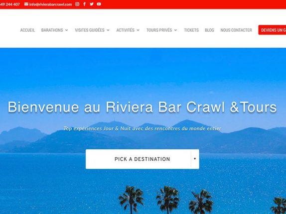Riviera Bar Crawl & Tours
