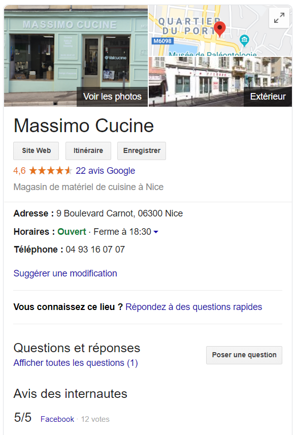 referencement entreprise locale
